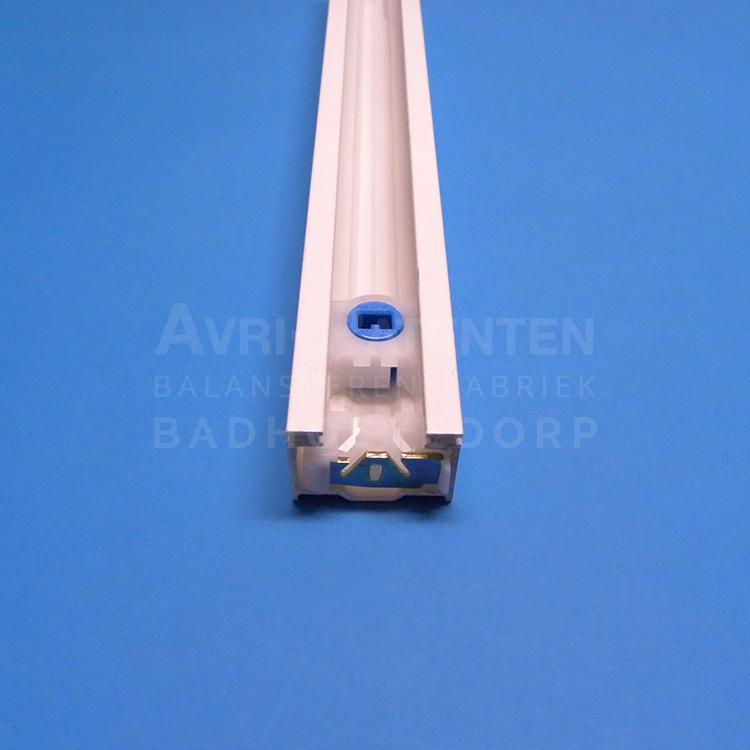 AVRMK3 geleiderrail zonder groef voor borstel